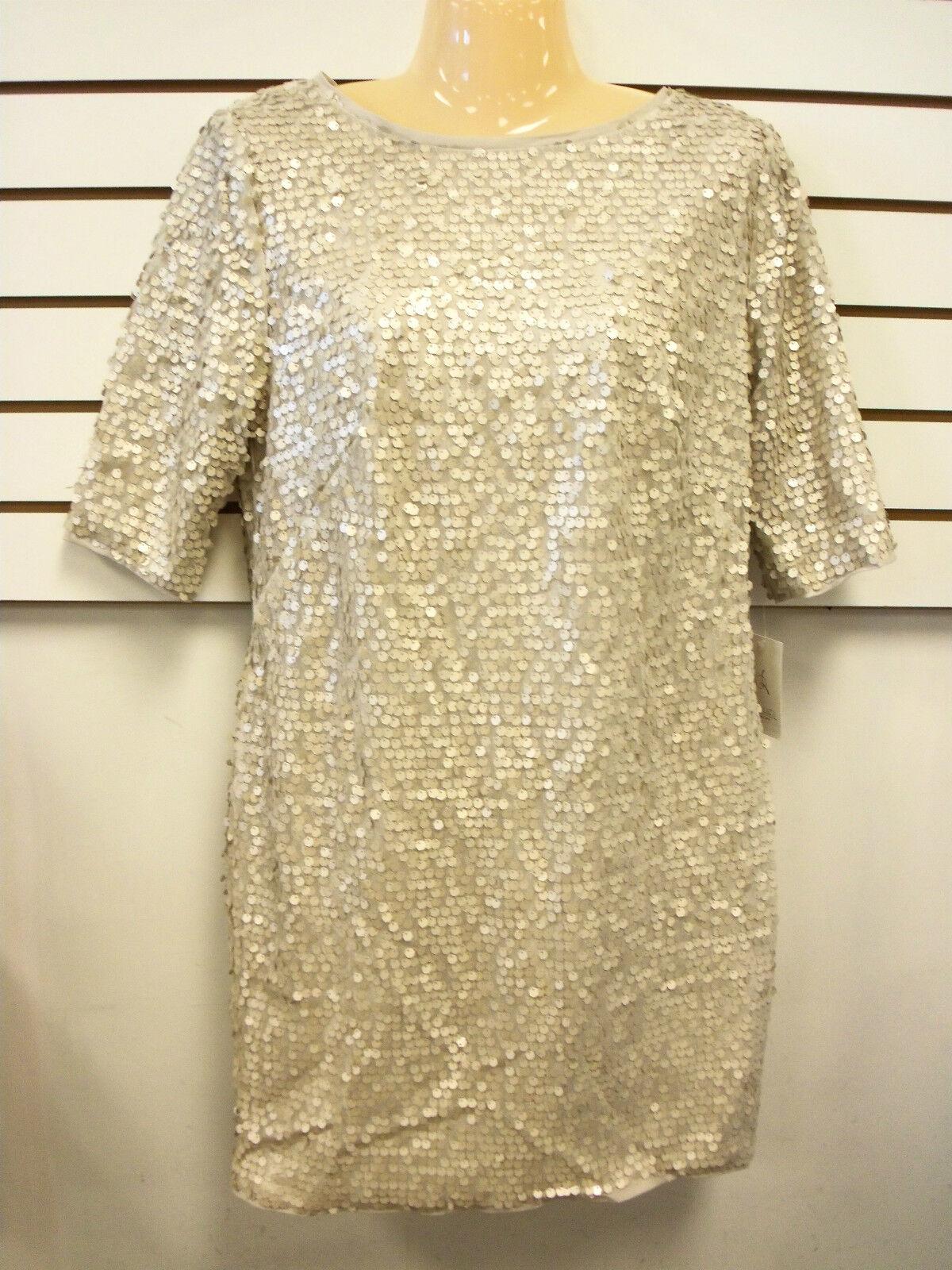 Rachel Roy New Womens Truth Trek Oyster Sequins Dress 4