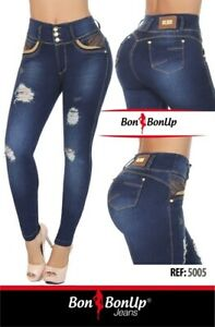 Jeans colombianos butt lifter fajas colombianas levanta cola Bon Bon Up 5005