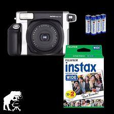 Sofortbildkamera Fuji Instax WIDE 300 +Makrovorsatz +20 Instax Fotos + Batterien