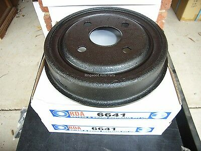 FORD FALCON XK XL XM & XP  PAIR OF REAR BRAKE DRUMS .. NEW ..