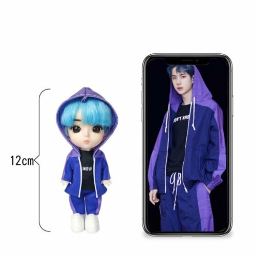 The Untamed 王一博 Wang Yibo Xiao Zhan 肖战 Star 12cm Doll Toy Produce 101 Toy Gift