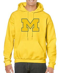 National Collegiate Athletic Association équipe De Basket-ball Sweat à Capuche-pull Avec Michigan Logo-confort à Capuche-afficher Le Titre D'origine