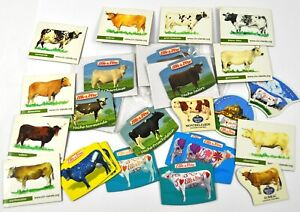 Lot-Konvolut-25-Vache-Deco-Aimants-Boeuf-pour-Refrigerateur-Fridge-Magnets