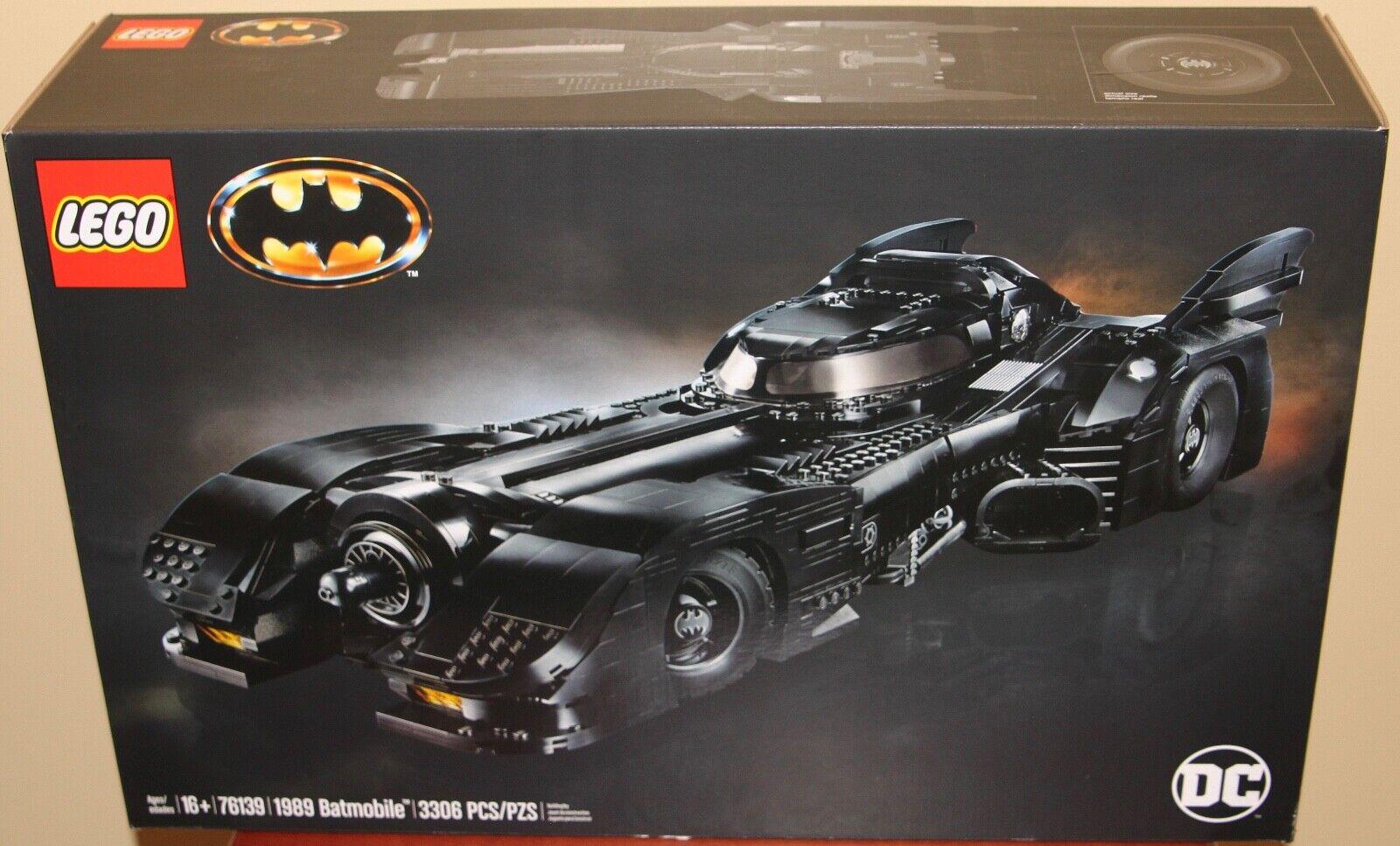 Lego 76139 Batman 1989 Batmobile NO Box Brand New