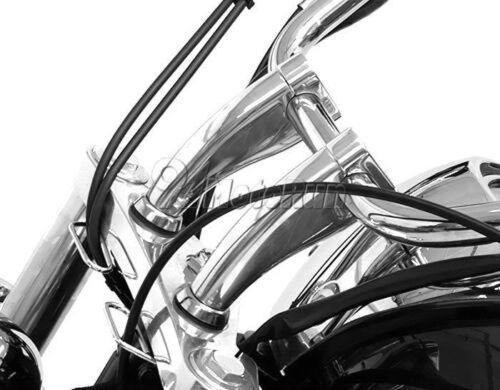 "Chrome 1/"" Handlebar Riser For Honda Shadow Spirit Aero VT750 VTX 1300 1800"