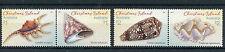 Christmas Island Australia 2016 MNH Shells 4v Set in Pairs Sea Shells Stamps
