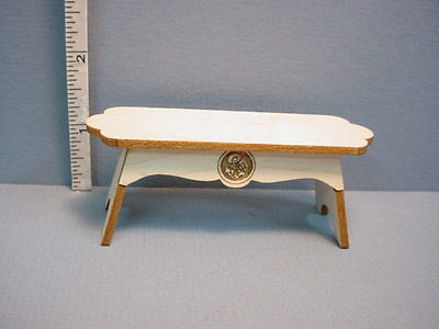 Miniature Bench Fancy Wi Curved Ends Laser Creations 1