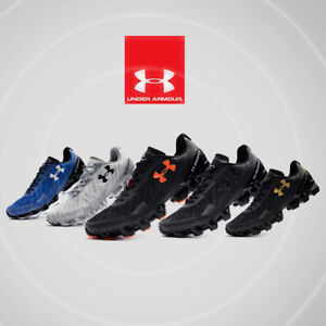 detailed look c2531 f7963 Details about Under Armour Scorpio 2 Men's Black Running Road Sports Shoes  Trainers 2019 New