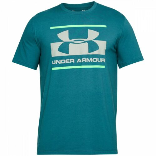 Under Armour Mens T shirt Gym Active Wear Sports Branded Logo Cotton Tee Top