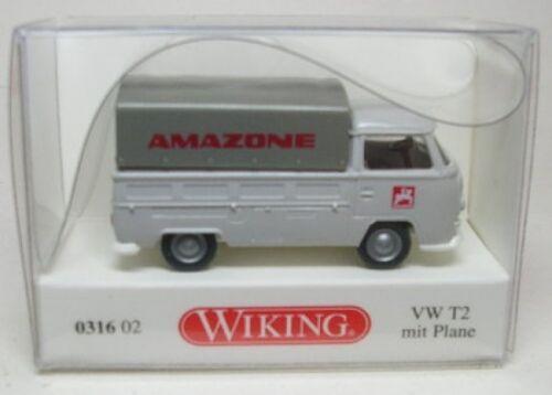 grau VW T2 mit Plane Amazone