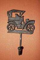(4), Car, Wall Hook, Vintage, Cast Iron, Garden Decor, Organize, Country Decor