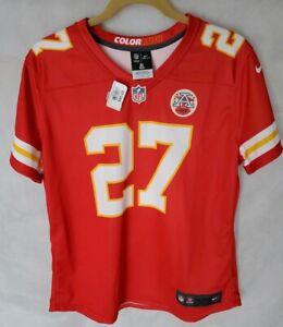 best sneakers b3960 7f74c Details about AUTHENTIC!!! KC Chiefs Nike 'COLOR RUSH' Jersey Women's size  L #27