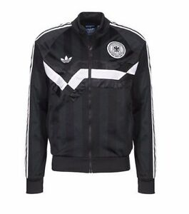 Details about Adidas Originals Mens Germany TT Archive Black AJ8020 RRP £80 Size Small