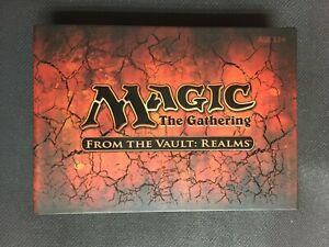 From-the-Vault-REALMS-Sealed-New-MTG-Ancient-Tomb-Dryad-Arbor-Vesuva-Magic-FTV