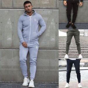 Eto-Homme-Coupe-Slim-Jogging-Resserre-Survetement-Polaire-Pantalon-Sweat-Bas