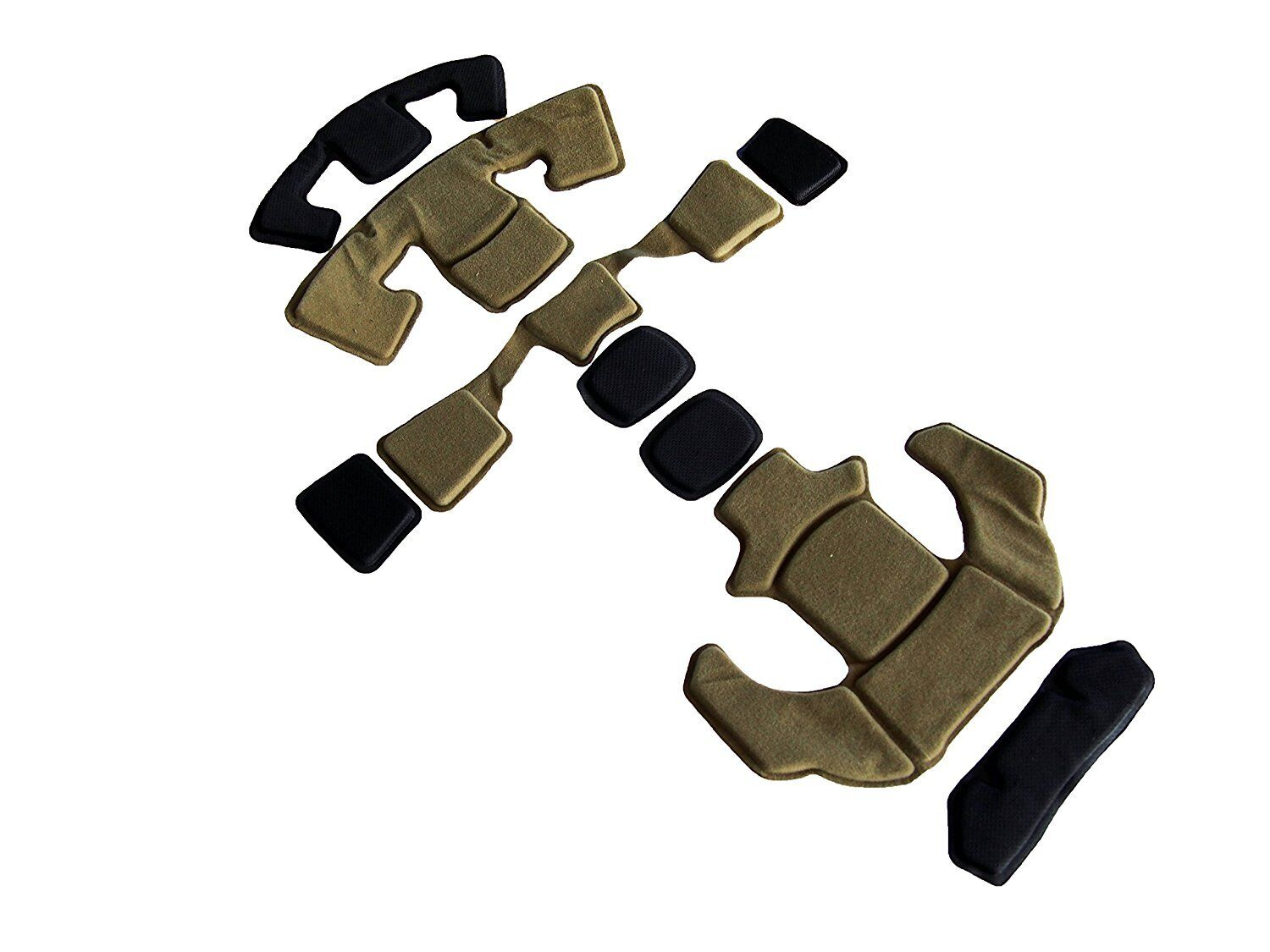 DLP Tactical ImpaX Ultimate Pad Set For MICH   OPS-Core   ACH   AirFrame Helmet