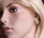 Russische-Rose-Weiss-Rotgold-585-Ohrringe-mit-CZ-ca-2-60g-Neu-Glaenzend Indexbild 2