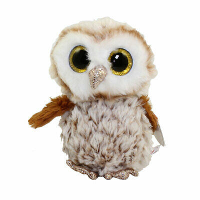 Glitter Eyes OWLETTE the Owl TY Beanie Boos - MWMTs Boo Toy 6 inch