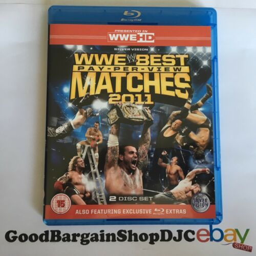 1 of 1 - WWE - The Best PPV Matches Of 2011 (Blu-ray, 2012, 2-Disc Set)