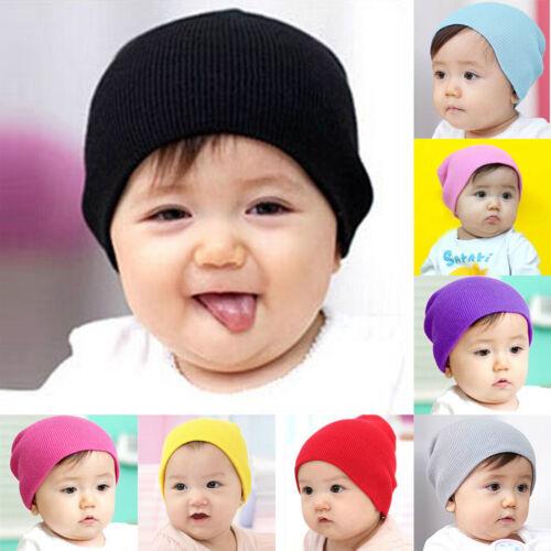 Toddler Newborn Kids Baby Boy Girl Infants Cotton Soft Warm Santa Hat Beanie Cap