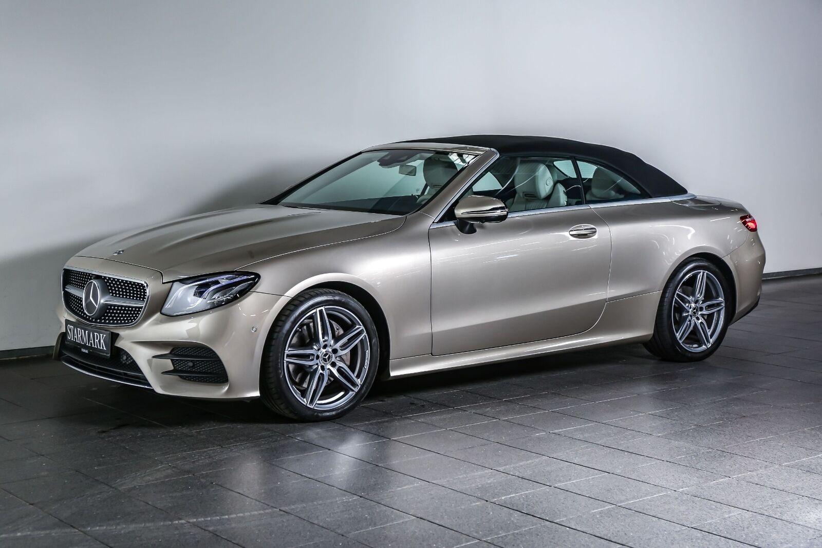 Mercedes E200 2,0 Cabriolet aut. 2d - 859.900 kr.