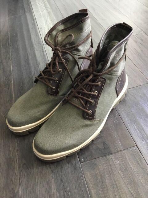 TIMBERLAND A1GHG CITY Blazer Chukka Leather Men's Boots, Size UK 10.5 EUR 45