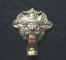 BATTENTE BATTIPORTA Barong in ottone fuso mystisches Ledger incantesimo Bali Indonesia Asia bene