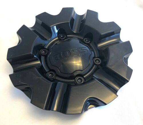 3215-02 Boss Gloss Black Wheel Center Cap pn: 3215 QTY 1