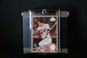 Mike Trout Diamond Anniversary Rookie card. US175. This is a RE-PRINT CARD.