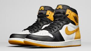 Nike Air Jordan 1 Retro High OG JAUNE OCRE OCRE OCRE US 12 555088 109 9b7a16