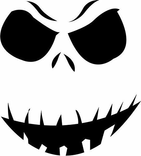 Skeleton Decal Disney Waterproof Sticker Jack Skellington Decal Disney Sticker Nightmare Before Halloween Sticker Halloween Decal