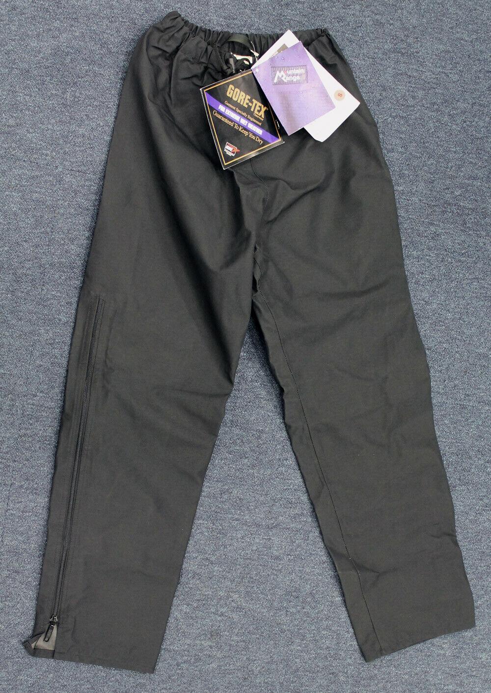 Un Par cordillera Pennine GORE-TEX Pantalones, Negro, Pequeño [s]