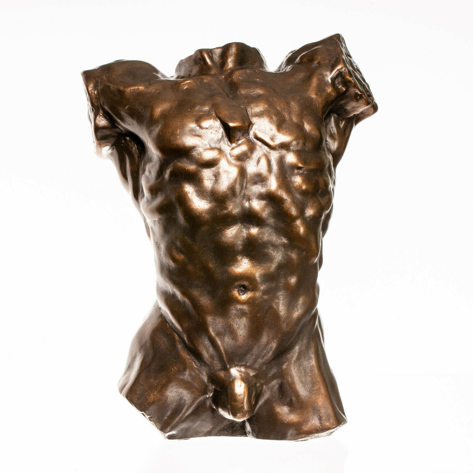 Erotic Male Torso By Auguste Rodin, Classical Sculpture, Gift, Art, Ornament.