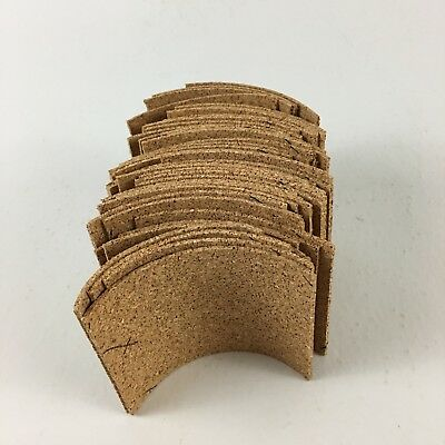 "Home Arts & Crafts Faithful Lot Of 44 Pieces Scraps Flat Cork Small Rectangles 2 7/8""x3.5"" Be Shrewd In Money Matters Other Home Arts & Crafts"