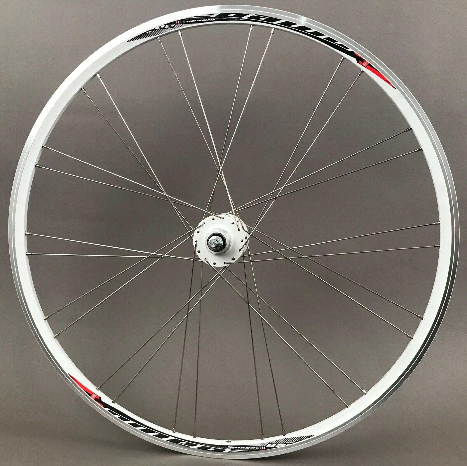 Image 1 - Mach1 Omega Fixed Freewheel Track Single Speed Bike Rear Wheel Clincher 28 Spoke