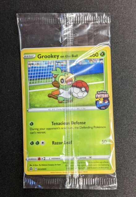 Grookey On The Ball Promo Card - 003/005 - sealed