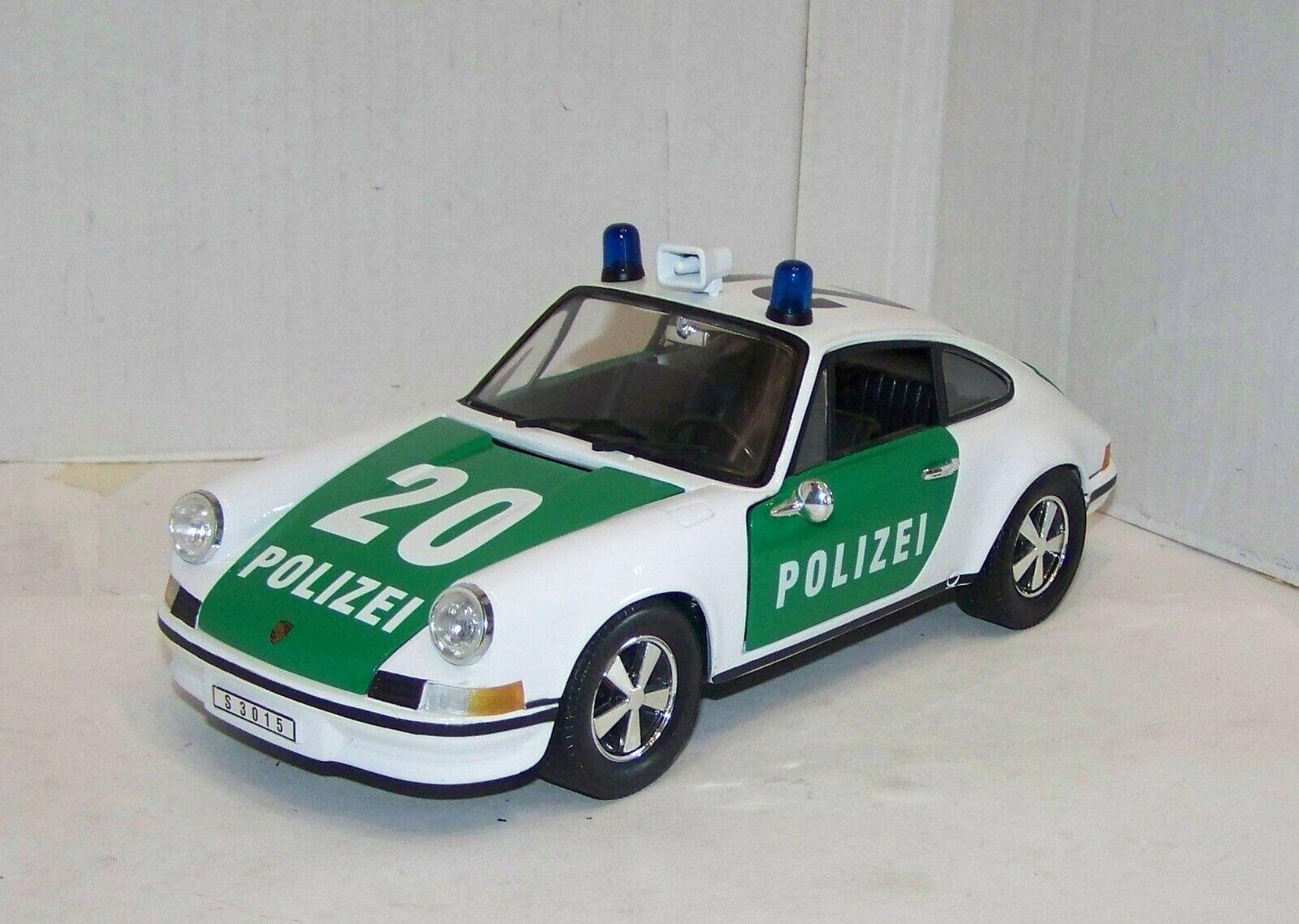 Universal Hobbies 1 18, Porsche 911 Polizei, lesen, XR9005X