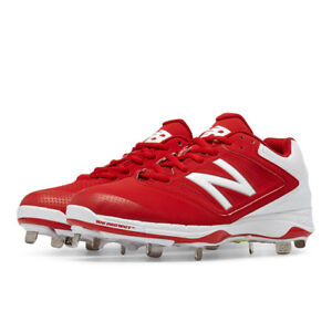 c93700d11af New Balance 4040v1 Low Women s Fastpitch Softball Metal Cleat - Red ...