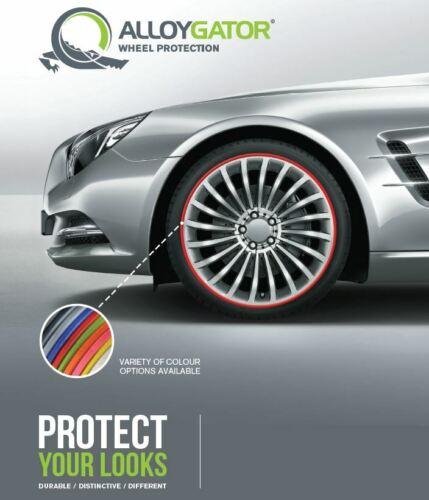 """AlloyGator Original RED Wheel Protectors Rim Protectors Fits 13-21"""" Rims"""