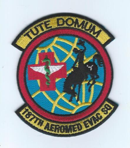 "187th AEROMED EVAC SQUADRON /""TUTE DOMUM/"" patch"