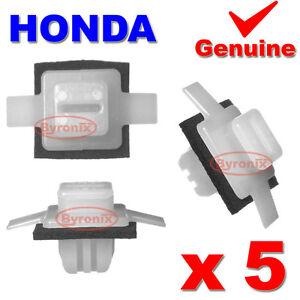 Honda-Civic-CR-V-CRV-Rueda-Delantera-Arco-Trim-Guarnicion-Clips-Exterior-Delantero-Ala