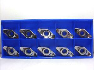 10 Pcs Vcgt 220530-al K10 Traitement De Aluminium Et Plastiques Plaquettes Blanc Pur Et Translucide