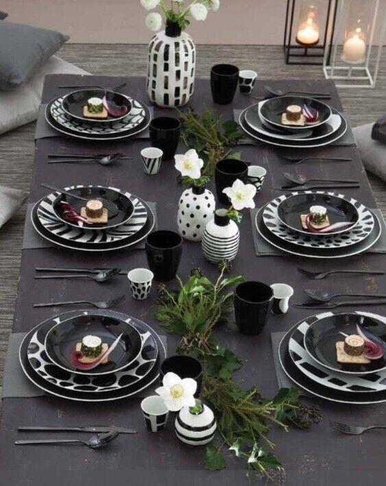 Rose et Tulipani - Noir - Service Flat 18 Pièces pour 6 personnes - Revendeur
