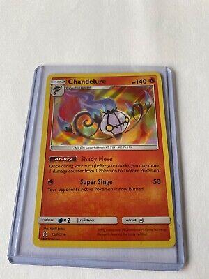 CHANDELURE Sun /& Moon Guardians Rising 13//145 3 x Pokemon Card holo-foil
