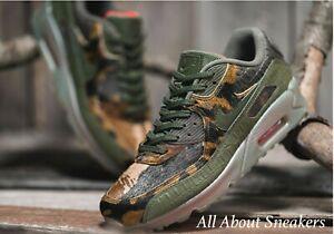 Detalles de Nike Air Max 90 Croc Camo Para hombre Zapatillas Limitada & Rare Stock Todos Los Tamaños ver título original