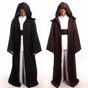 5f10ac38df New 1pc STAR WARS JEDI  SITH Hooded Cloak Halloween Cosplay Costume ...