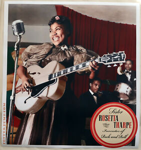 1940-Sister-Rosetta-Tharpe-36-x-39-Hi-Q-XL-Format-Poster-Inventor-of-Rock-amp-Roll