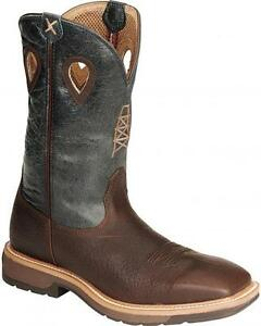 f842a5f865f Details about Twisted X Boots Men's MLCS006 Lite Weight Work Boot Safety  Steel Wide Sqr Toe
