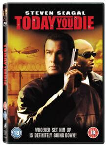 Today-You-Die-DVD-2006-Steven-Seagal-FauntLeRoy-DIR-cert-15-NEW