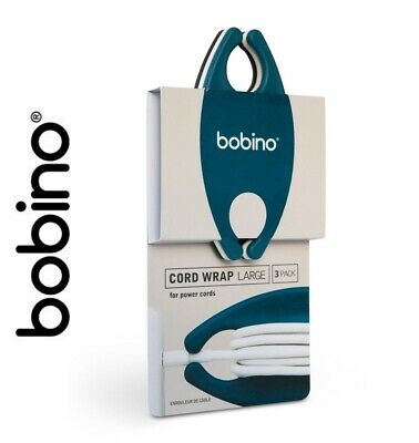 Bobino LARGE Cord Wrap (PK of 3) for Mains Leads & Laptops cables ...